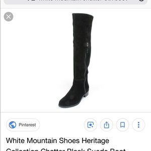 White Mountain Suede over the knee boot 7